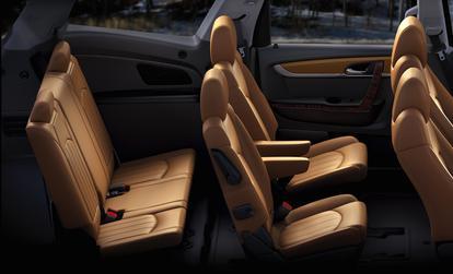 used third row seat